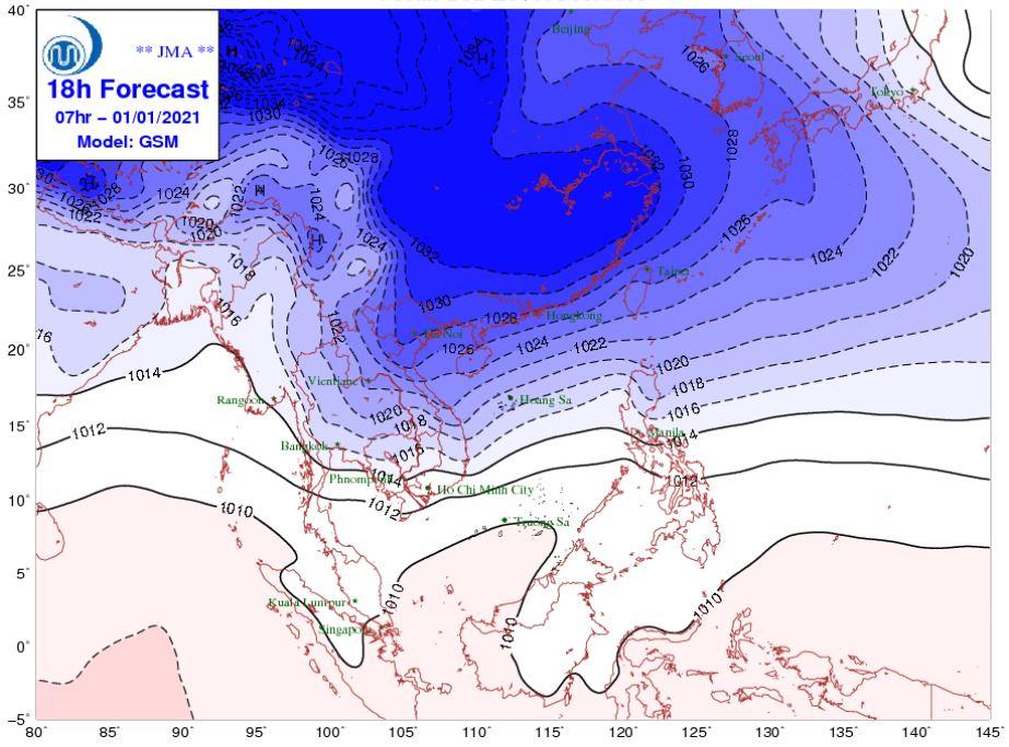 Thời tiết Hà Nội hôm nay 1/1: Đón Tết Dương lịch trong rét đậm, rét hại, miền Bắc có nơi dưới 0 độ - Ảnh 1.