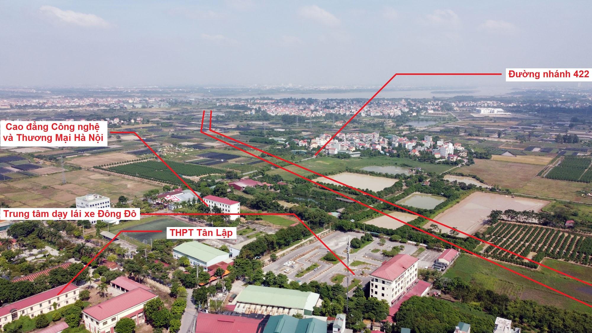 Ba đường sẽ mở theo qui hoạch ở xã Tân Lập, Đan Phượng, Hà Nội - Ảnh 3.