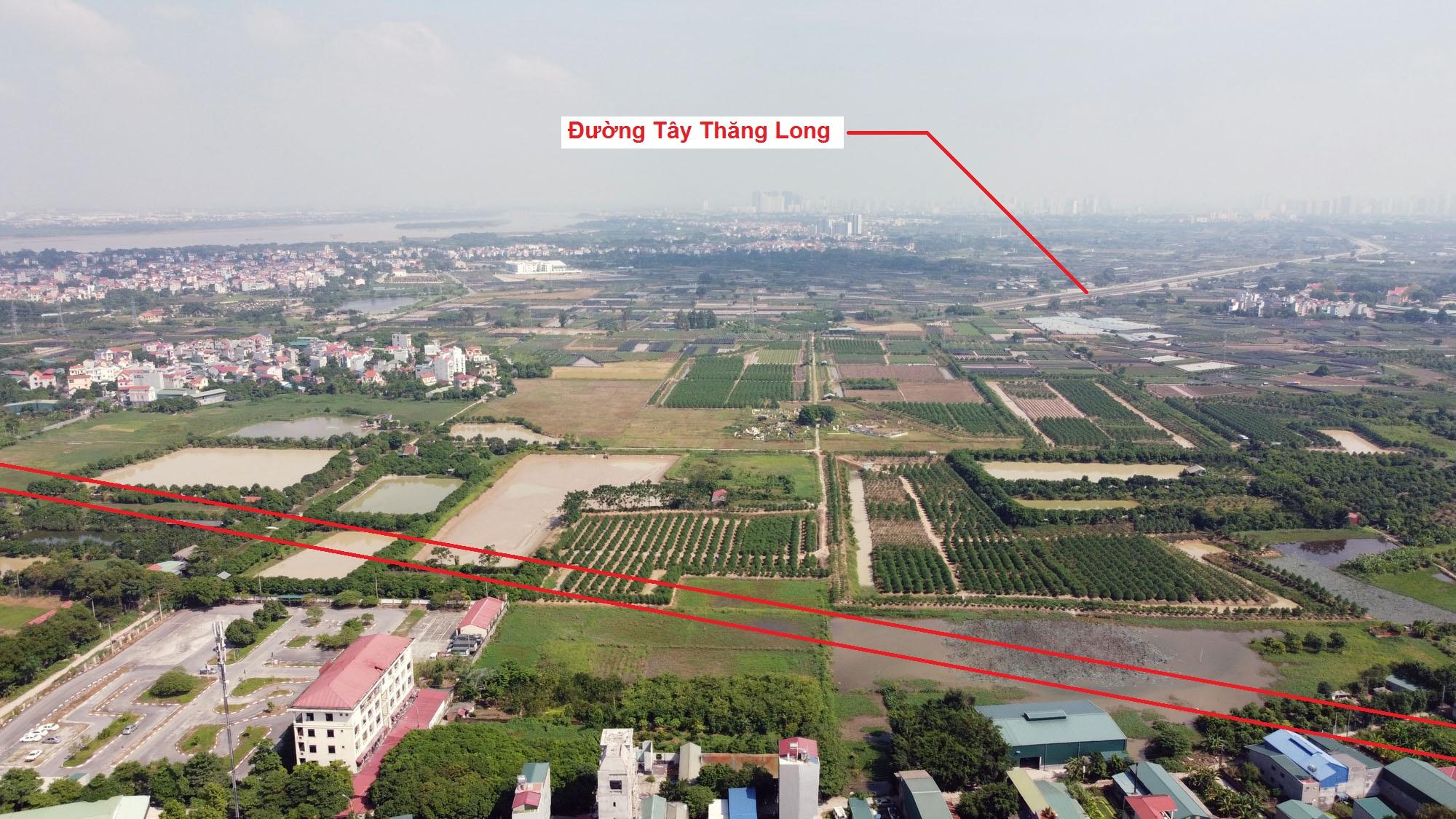 Ba đường sẽ mở theo qui hoạch ở xã Tân Lập, Đan Phượng, Hà Nội - Ảnh 4.
