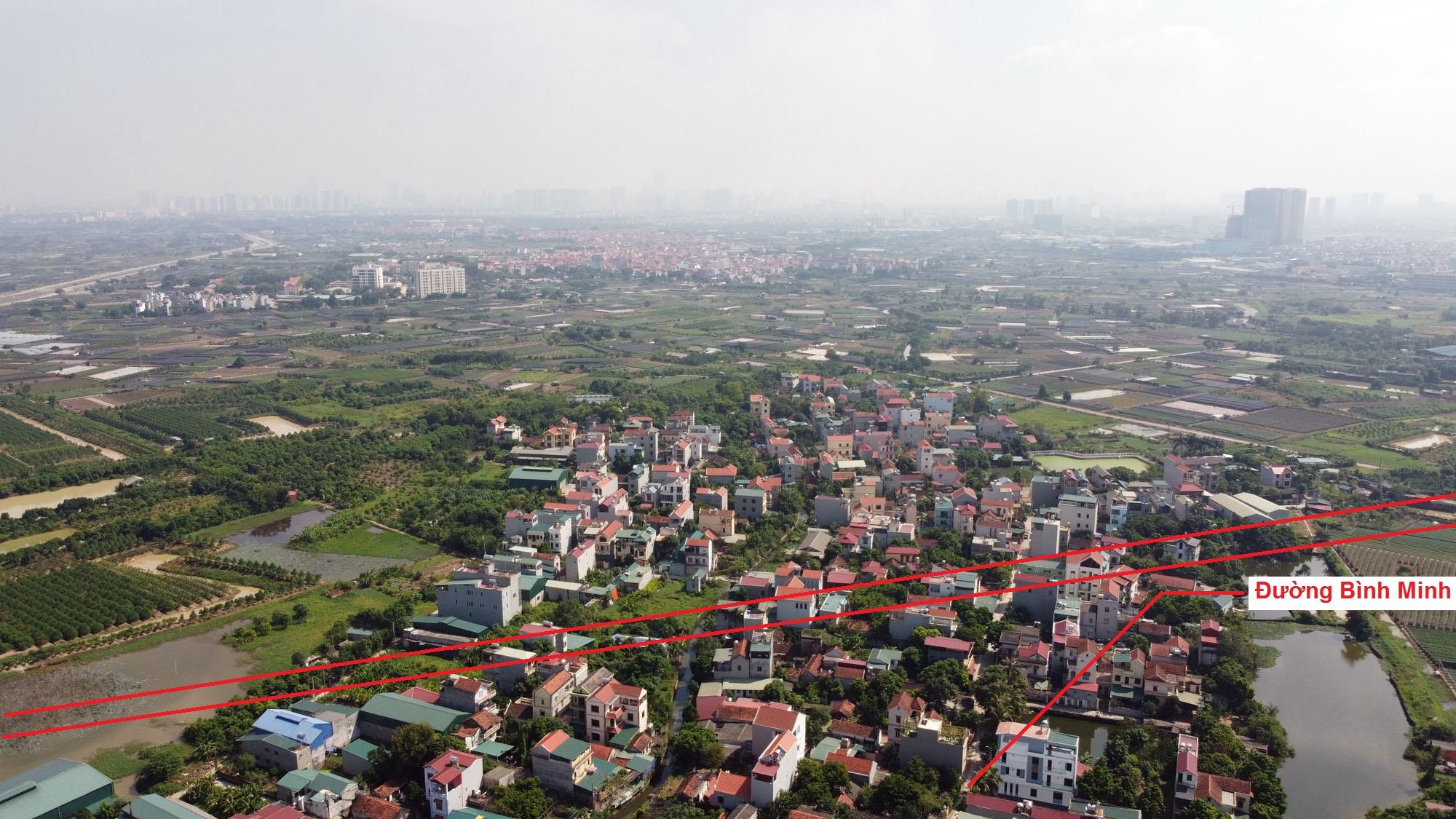 Ba đường sẽ mở theo qui hoạch ở xã Tân Lập, Đan Phượng, Hà Nội - Ảnh 5.