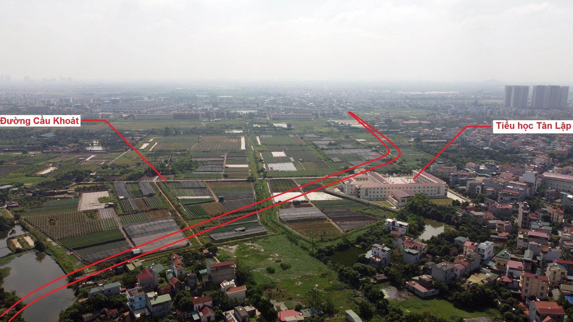 Ba đường sẽ mở theo qui hoạch ở xã Tân Lập, Đan Phượng, Hà Nội - Ảnh 6.