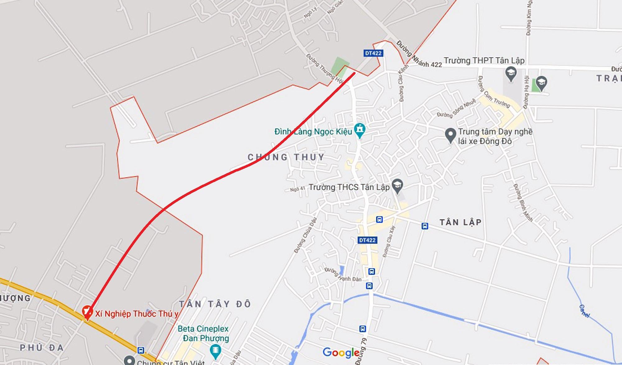 Ba đường sẽ mở theo qui hoạch ở xã Tân Lập, Đan Phượng, Hà Nội - Ảnh 9.