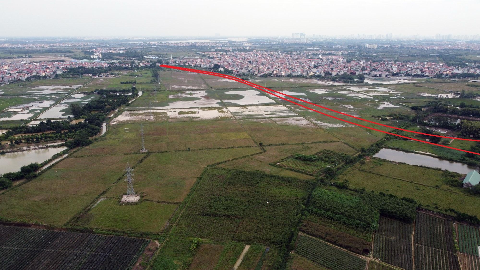 Ba đường sẽ mở theo qui hoạch ở xã Tân Lập, Đan Phượng, Hà Nội - Ảnh 11.
