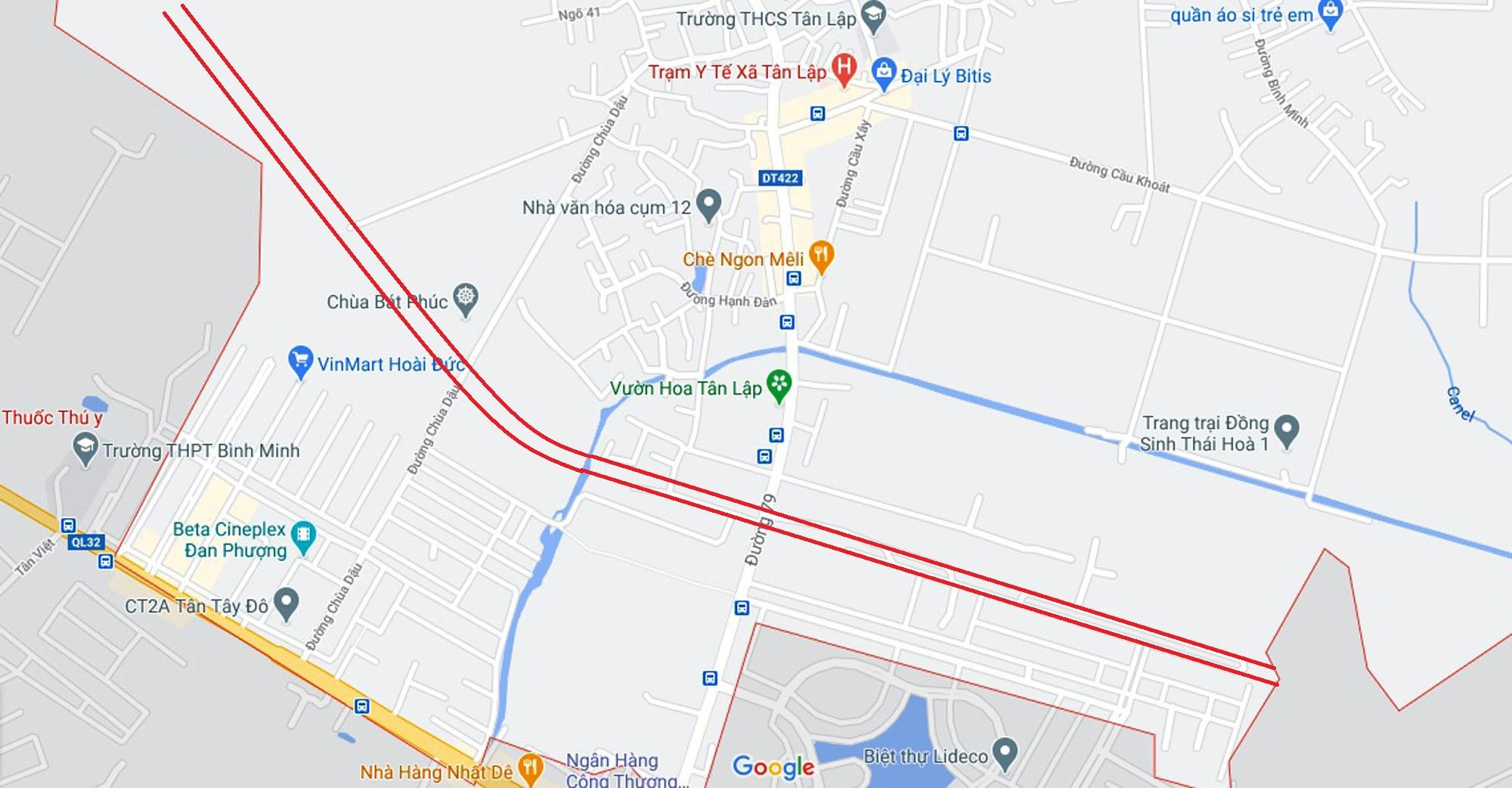 Ba đường sẽ mở theo qui hoạch ở xã Tân Lập, Đan Phượng, Hà Nội - Ảnh 13.