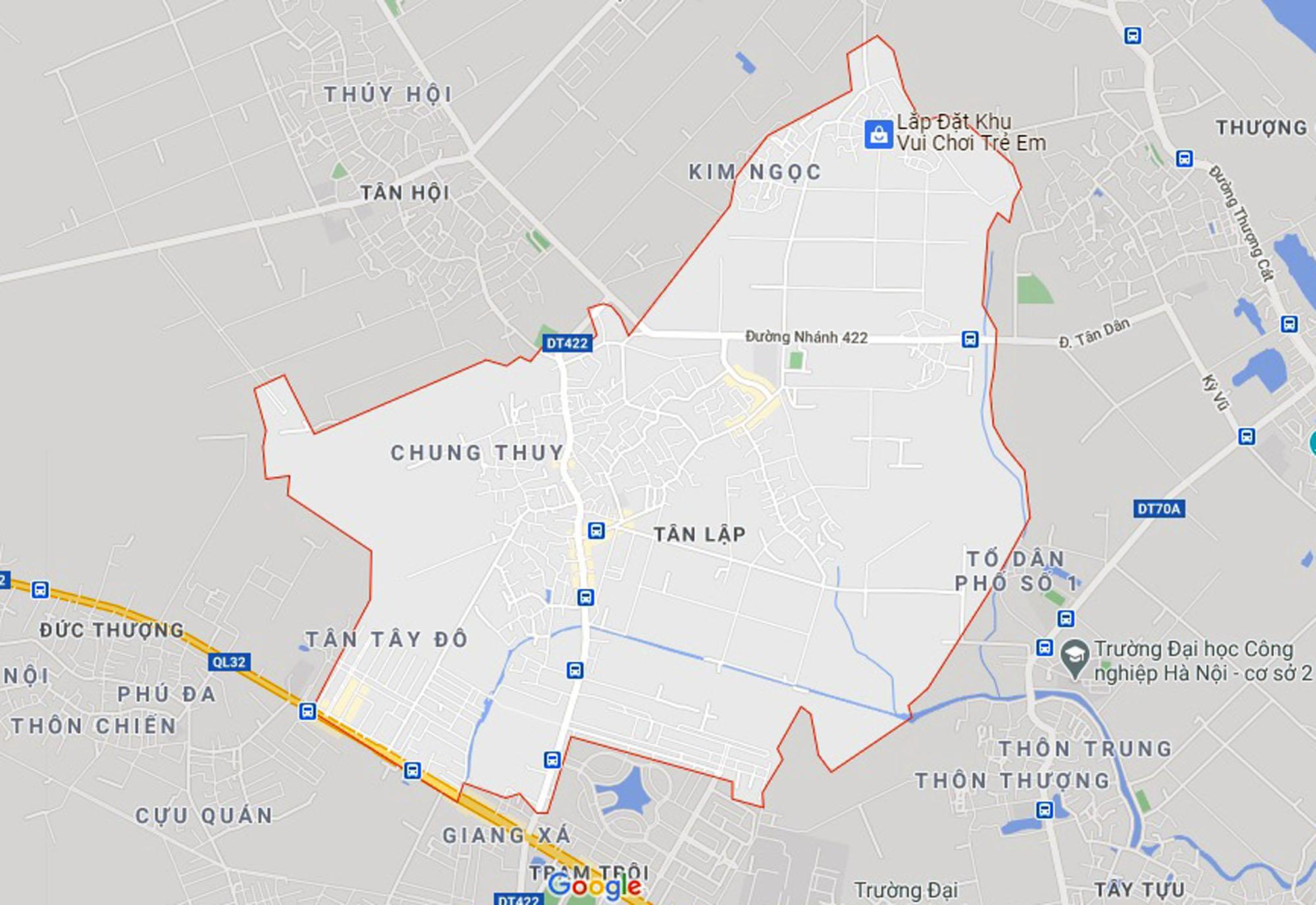 Ba đường sẽ mở theo qui hoạch ở xã Tân Lập, Đan Phượng, Hà Nội - Ảnh 1.