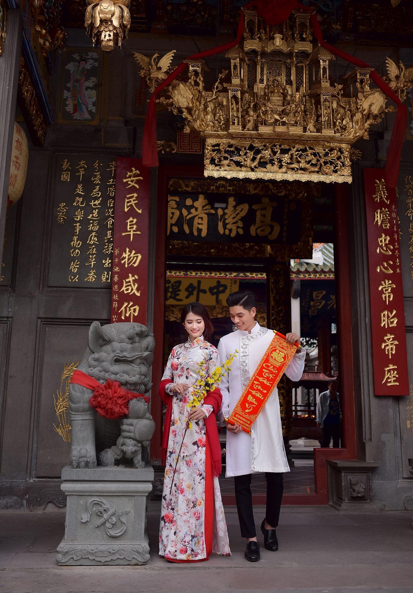 Lưu ngay 5 địa chỉ chụp ảnh áo dài Tết cực lung linh ở Sài Gòn - Ảnh 9.