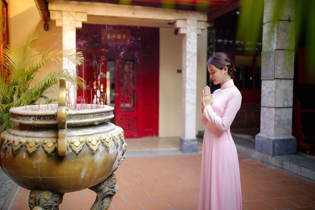 Lưu ngay 5 địa chỉ chụp ảnh áo dài Tết cực lung linh ở Sài Gòn - Ảnh 14.