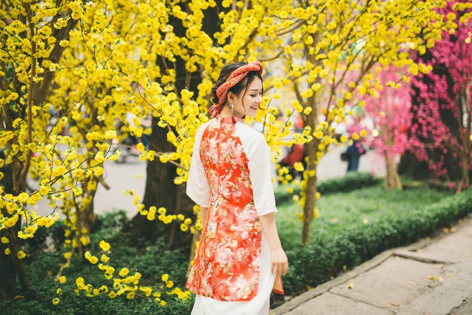 Lưu ngay 5 địa chỉ chụp ảnh áo dài Tết cực lung linh ở Sài Gòn - Ảnh 1.