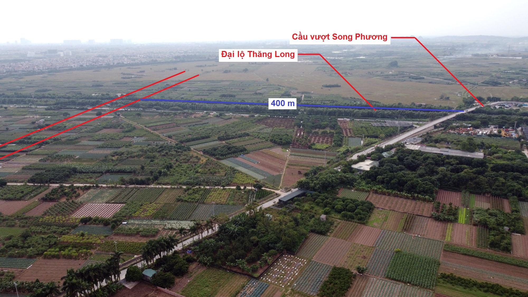 Ba đường sẽ mở theo quy hoạch ở xã Song Phương, Hoài Đức, Hà Nội - Ảnh 3.