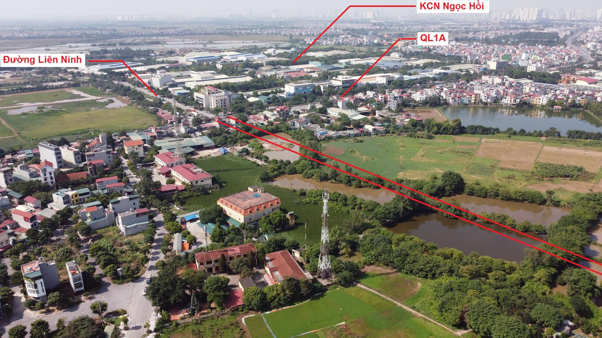 Ba đường sẽ mở theo quy hoạch ở xã Liên Ninh, Thanh Trì, Hà Nội - Ảnh 3.