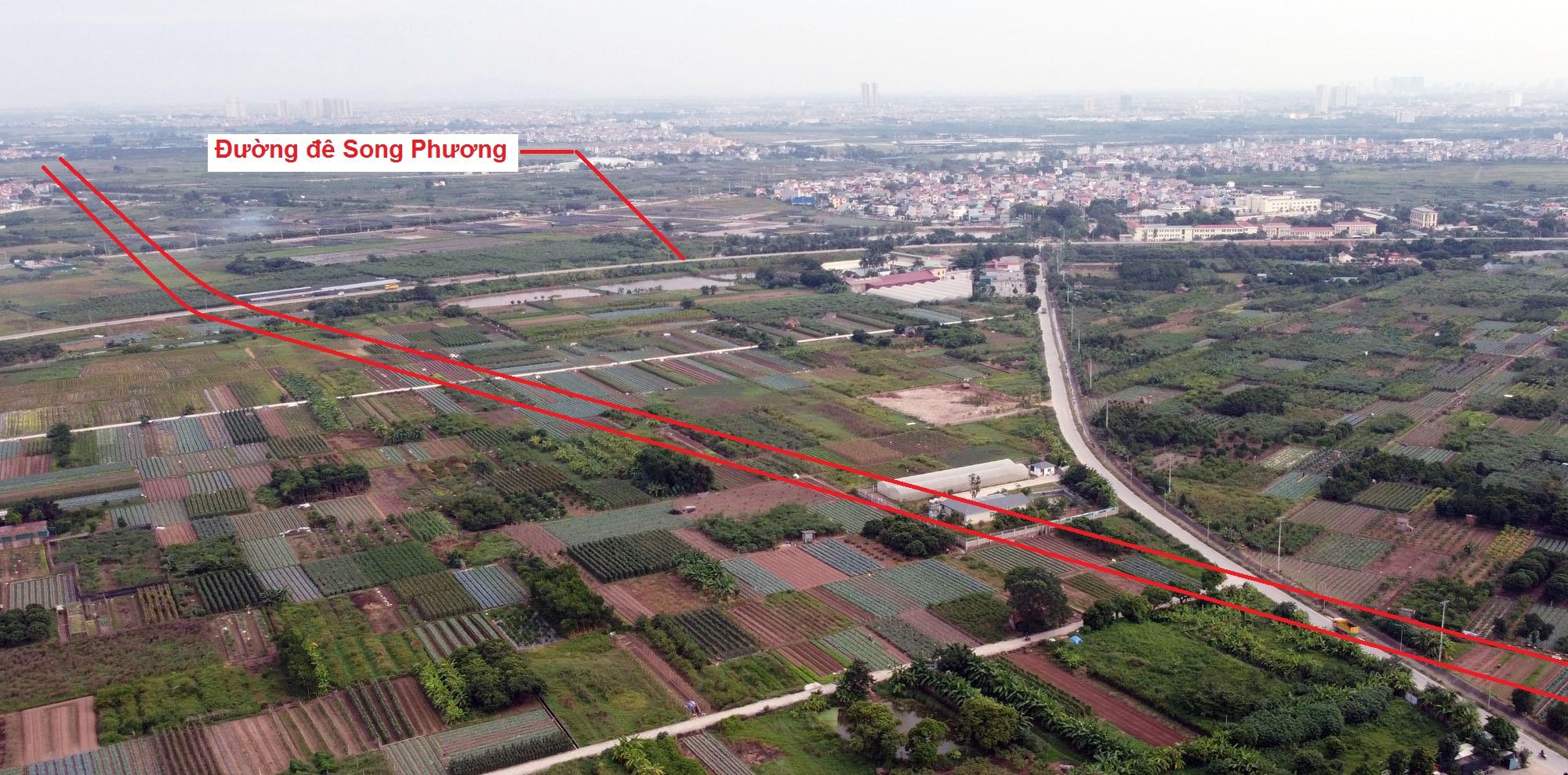 Ba đường sẽ mở theo quy hoạch ở xã Song Phương, Hoài Đức, Hà Nội - Ảnh 5.