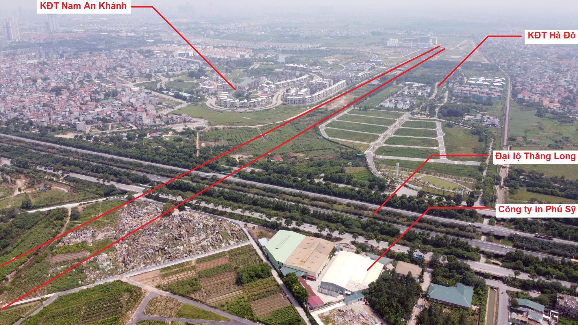 Ba đường sẽ mở theo quy hoạch ở xã Song Phương, Hoài Đức, Hà Nội - Ảnh 7.