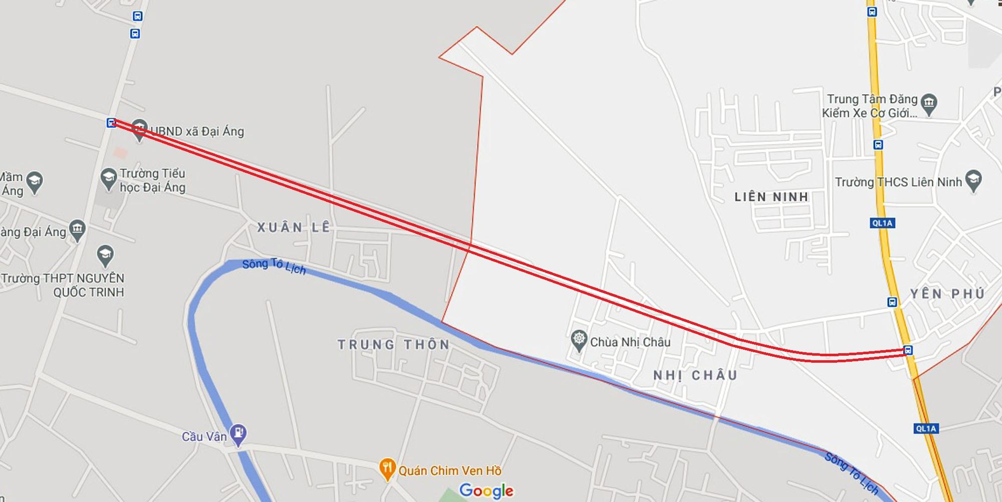 Ba đường sẽ mở theo quy hoạch ở xã Liên Ninh, Thanh Trì, Hà Nội - Ảnh 7.