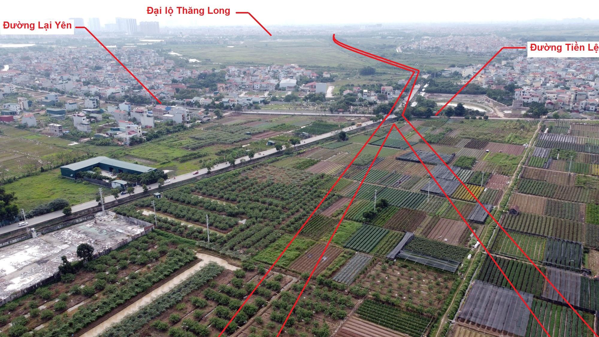 Ba đường sẽ mở theo quy hoạch ở xã Song Phương, Hoài Đức, Hà Nội - Ảnh 9.
