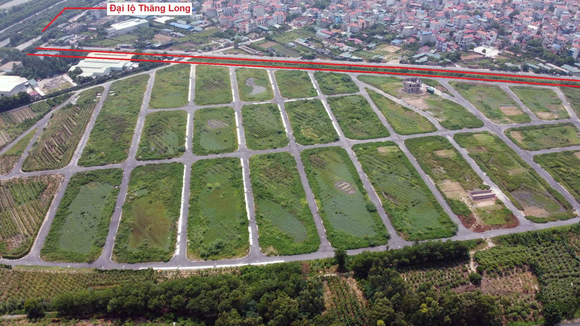 Ba đường sẽ mở theo quy hoạch ở xã Song Phương, Hoài Đức, Hà Nội - Ảnh 11.
