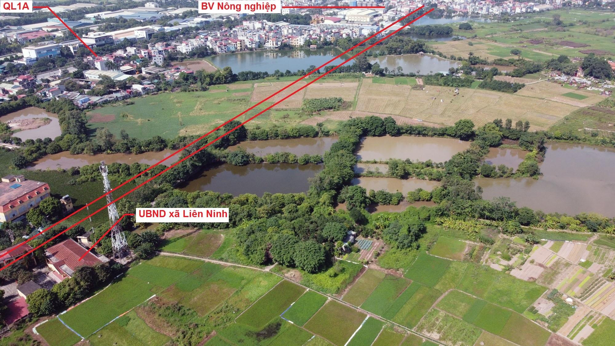 Ba đường sẽ mở theo quy hoạch ở xã Liên Ninh, Thanh Trì, Hà Nội - Ảnh 12.