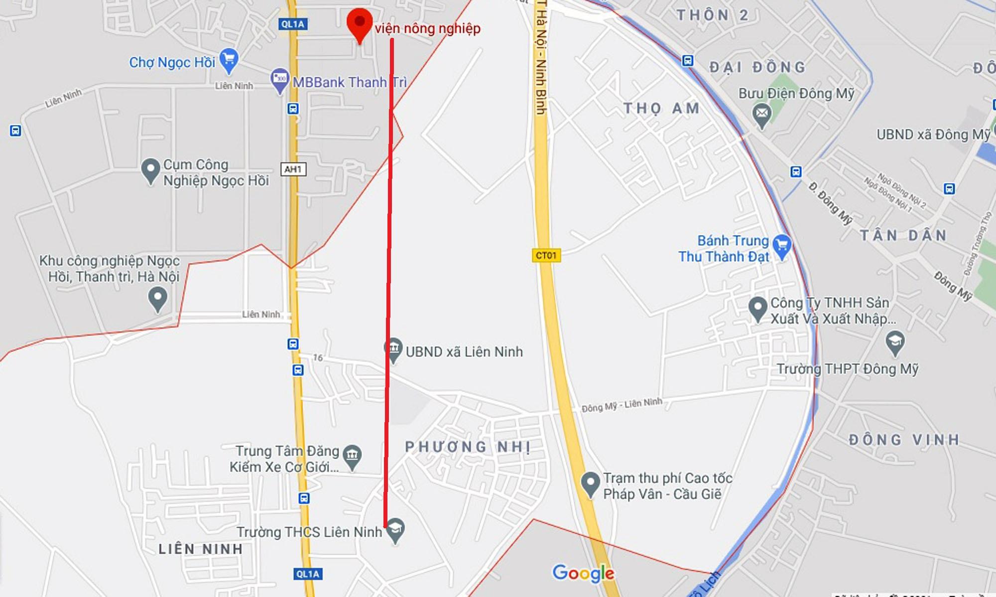 Ba đường sẽ mở theo quy hoạch ở xã Liên Ninh, Thanh Trì, Hà Nội - Ảnh 11.