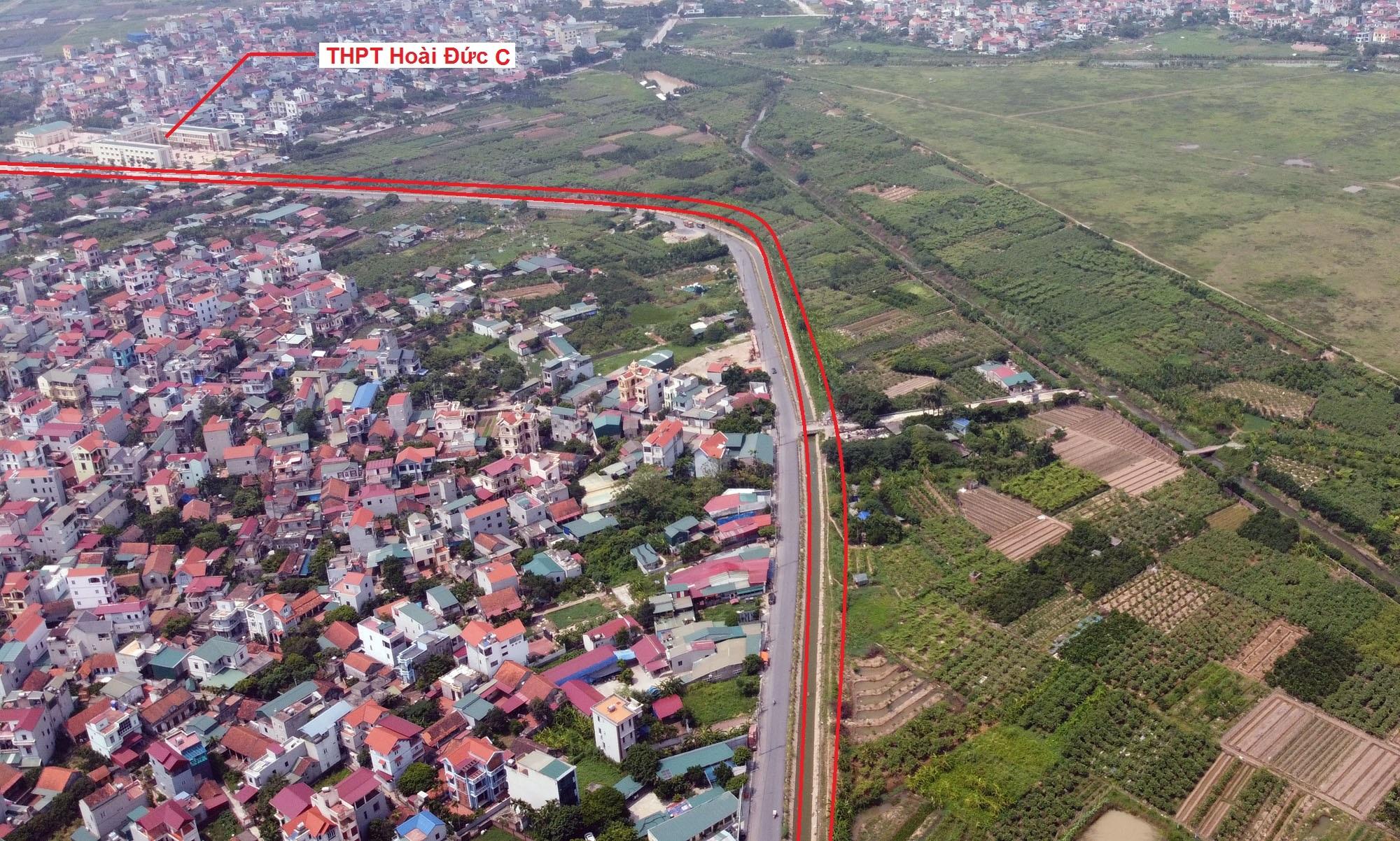 Ba đường sẽ mở theo quy hoạch ở xã Song Phương, Hoài Đức, Hà Nội - Ảnh 12.