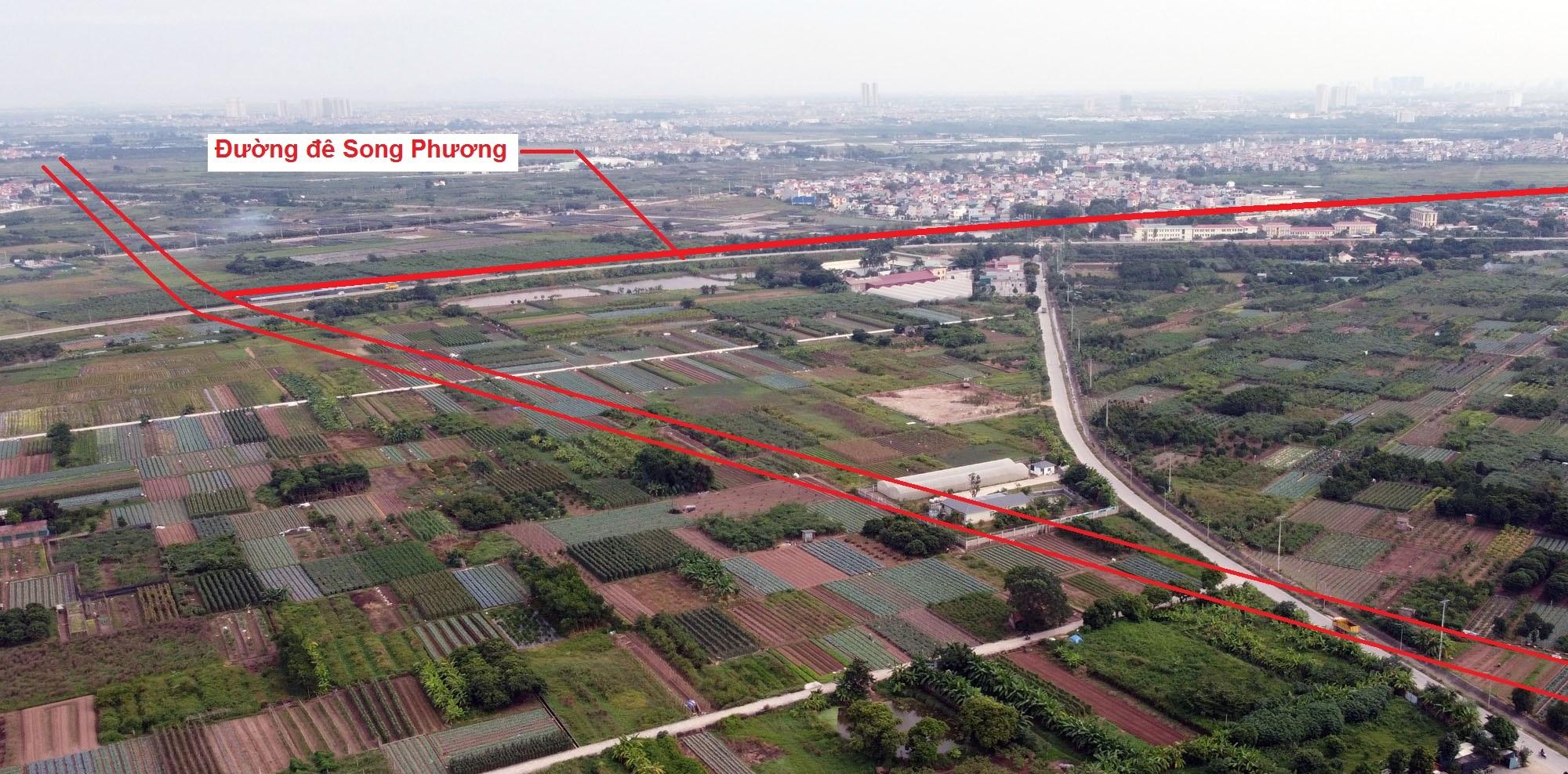 Ba đường sẽ mở theo quy hoạch ở xã Song Phương, Hoài Đức, Hà Nội - Ảnh 13.