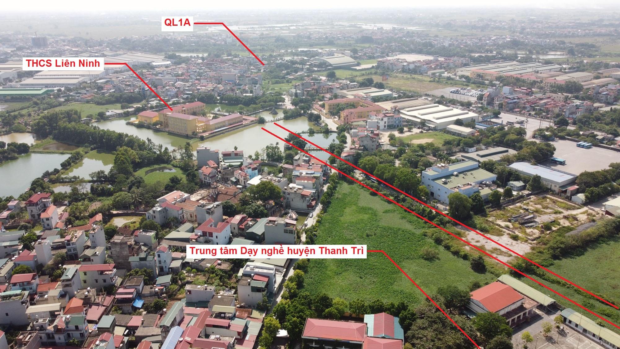 Ba đường sẽ mở theo quy hoạch ở xã Liên Ninh, Thanh Trì, Hà Nội - Ảnh 14.