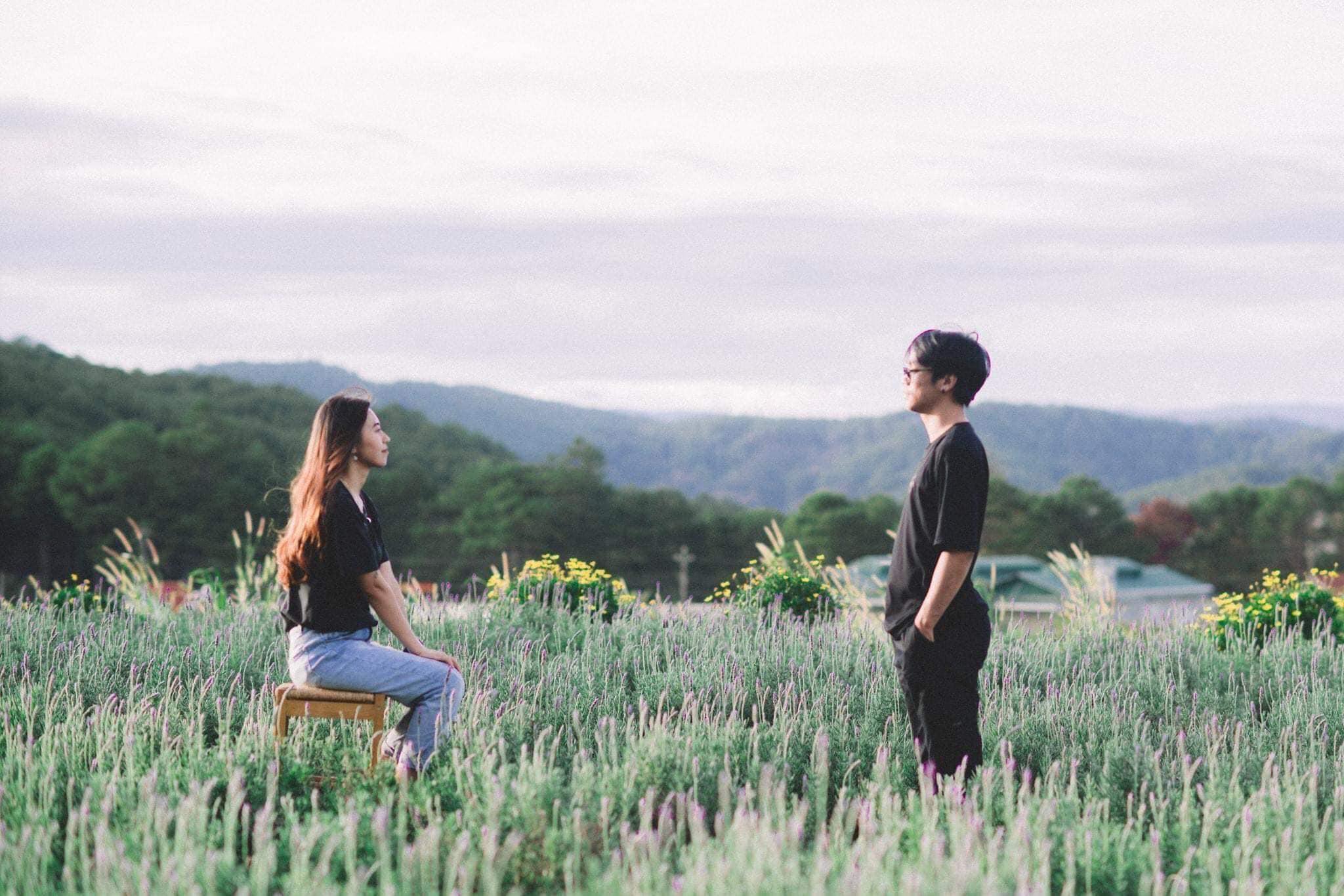 Check-in Vườn hoa lavender Túi Thương Nhớ, điểm đến 'mới toanh' tại Đà Lạt  - Ảnh 10.