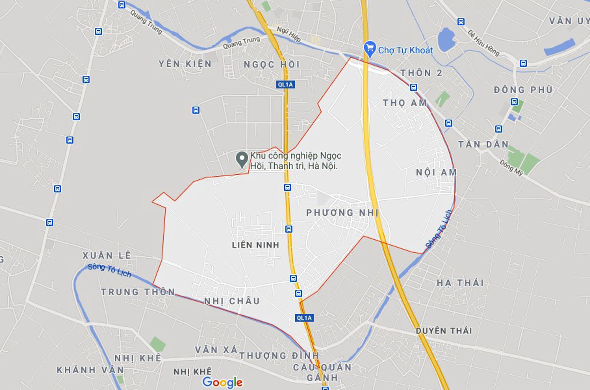 Ba đường sẽ mở theo quy hoạch ở xã Liên Ninh, Thanh Trì, Hà Nội - Ảnh 1.