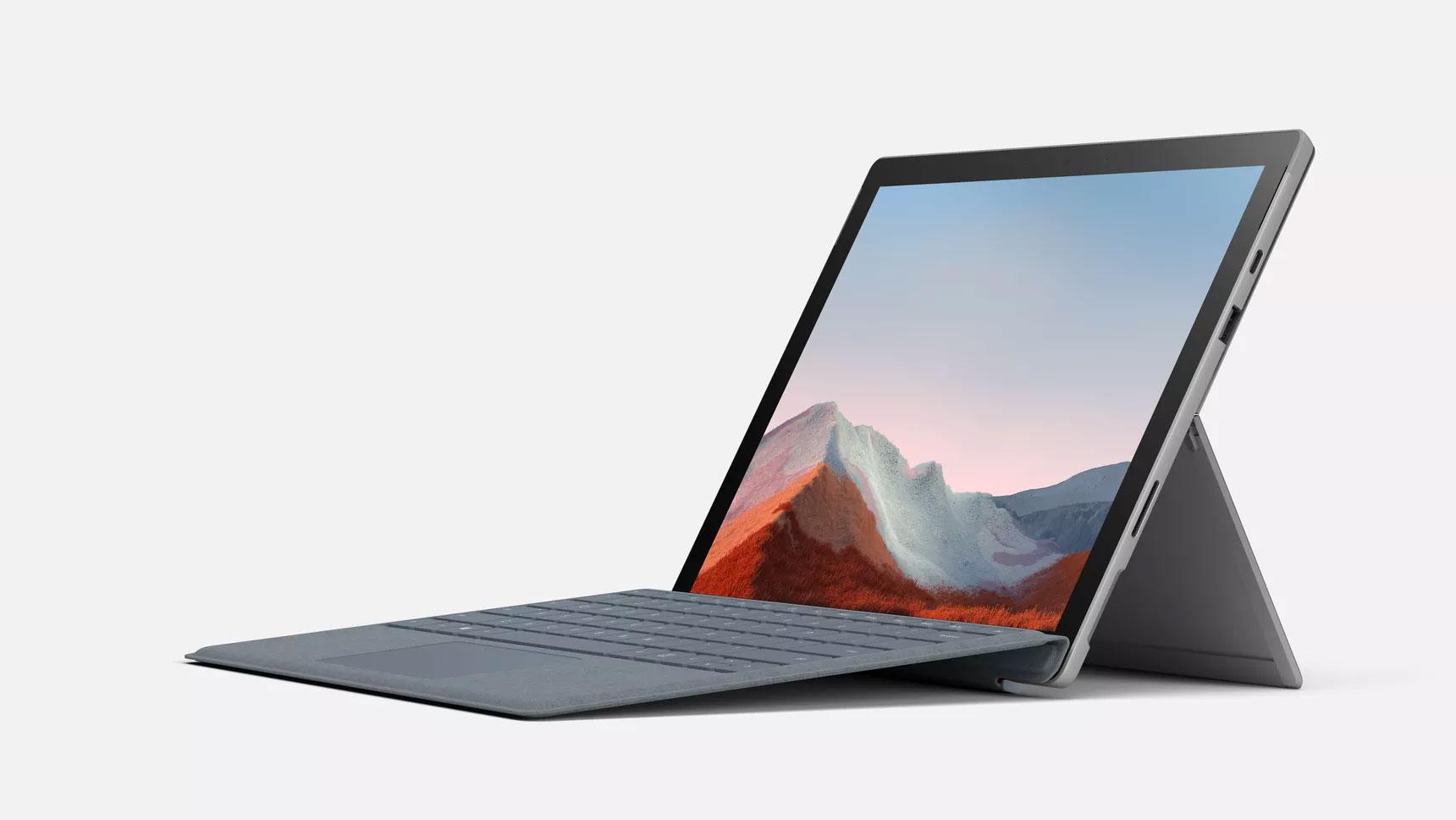 Microsoft Surface Pro 7 Plus máy mạnh, dung lượng pin lớn hiện có giá bán 899 USD - Ảnh 1.