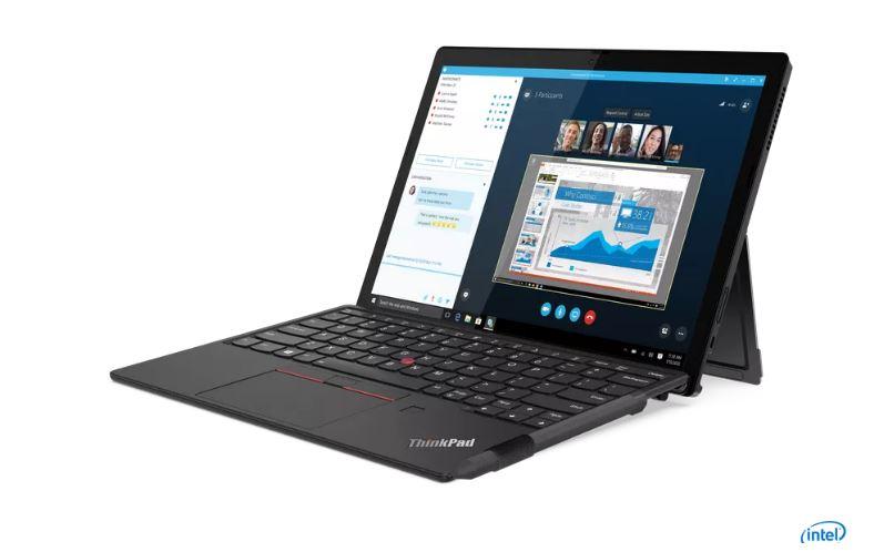 Lenovo trình làng máy tính ThinkPad X12 có thể tháo rời, màn hình 12 inch - Ảnh 1.