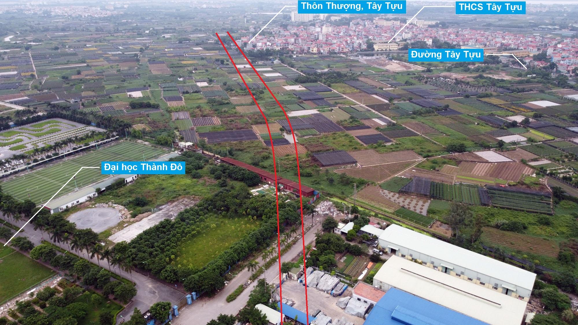 Ba đường sẽ mở theo qui hoạch ở phường Tây Tựu, Bắc Từ Liêm (phần 2) - Ảnh 3.