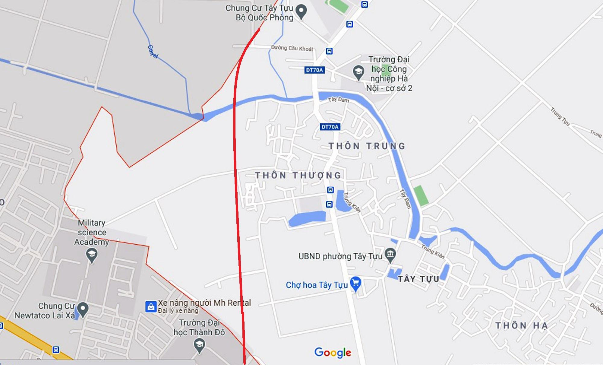 Ba đường sẽ mở theo qui hoạch ở phường Tây Tựu, Bắc Từ Liêm (phần 2) - Ảnh 2.