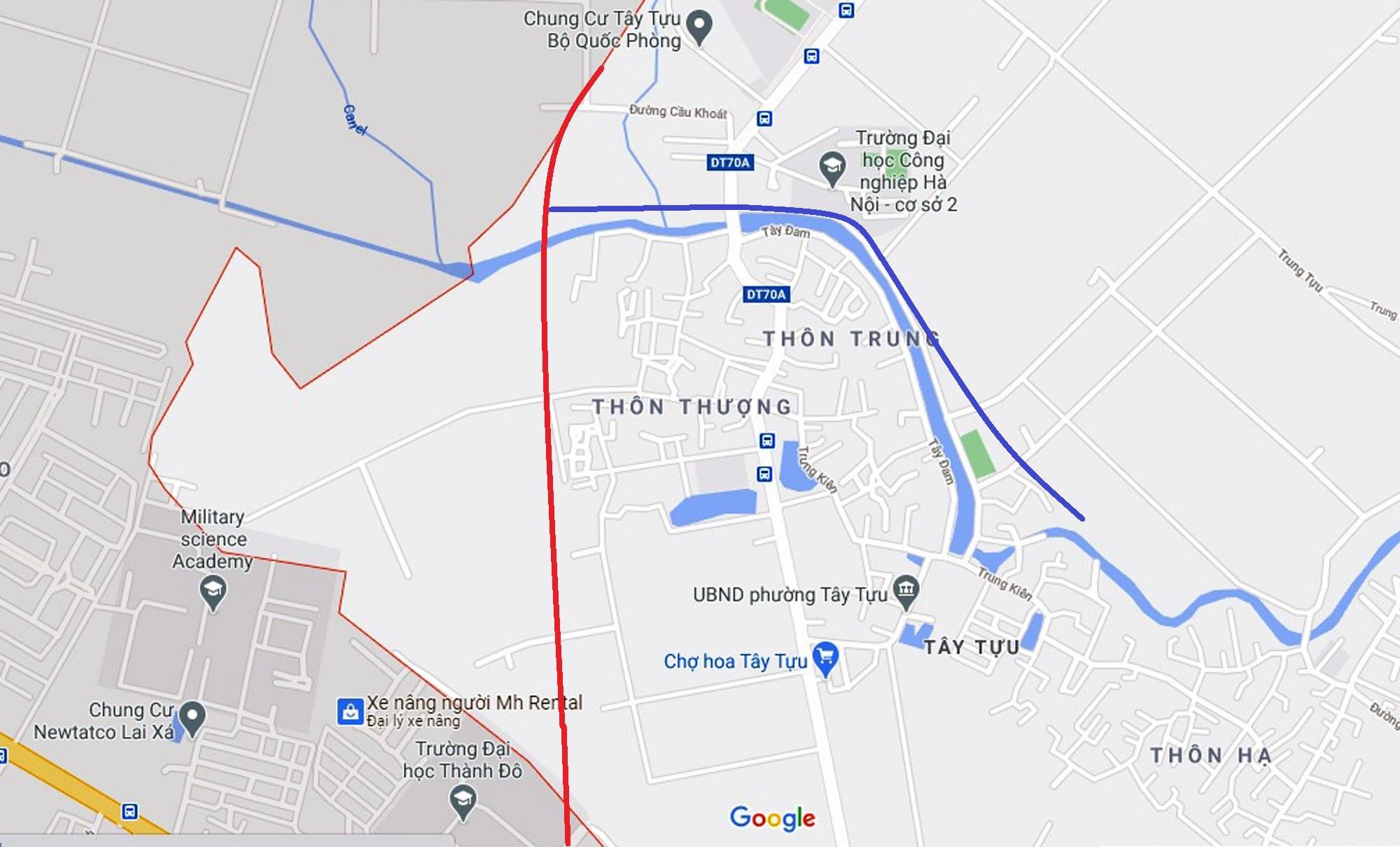 Ba đường sẽ mở theo qui hoạch ở phường Tây Tựu, Bắc Từ Liêm (phần 2) - Ảnh 8.