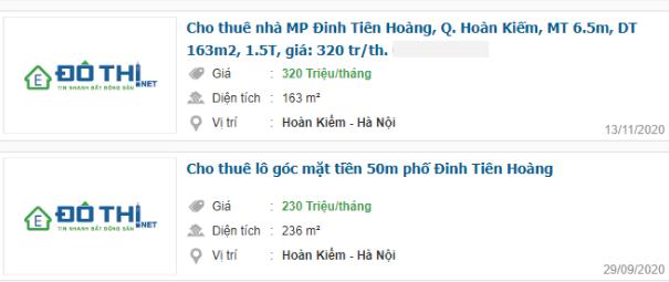 Giá đất phố Đinh Tiên Hoàng, Hoàn Kiếm, Hà Nội giai đoạn 2020 - 2024 - Ảnh 6.