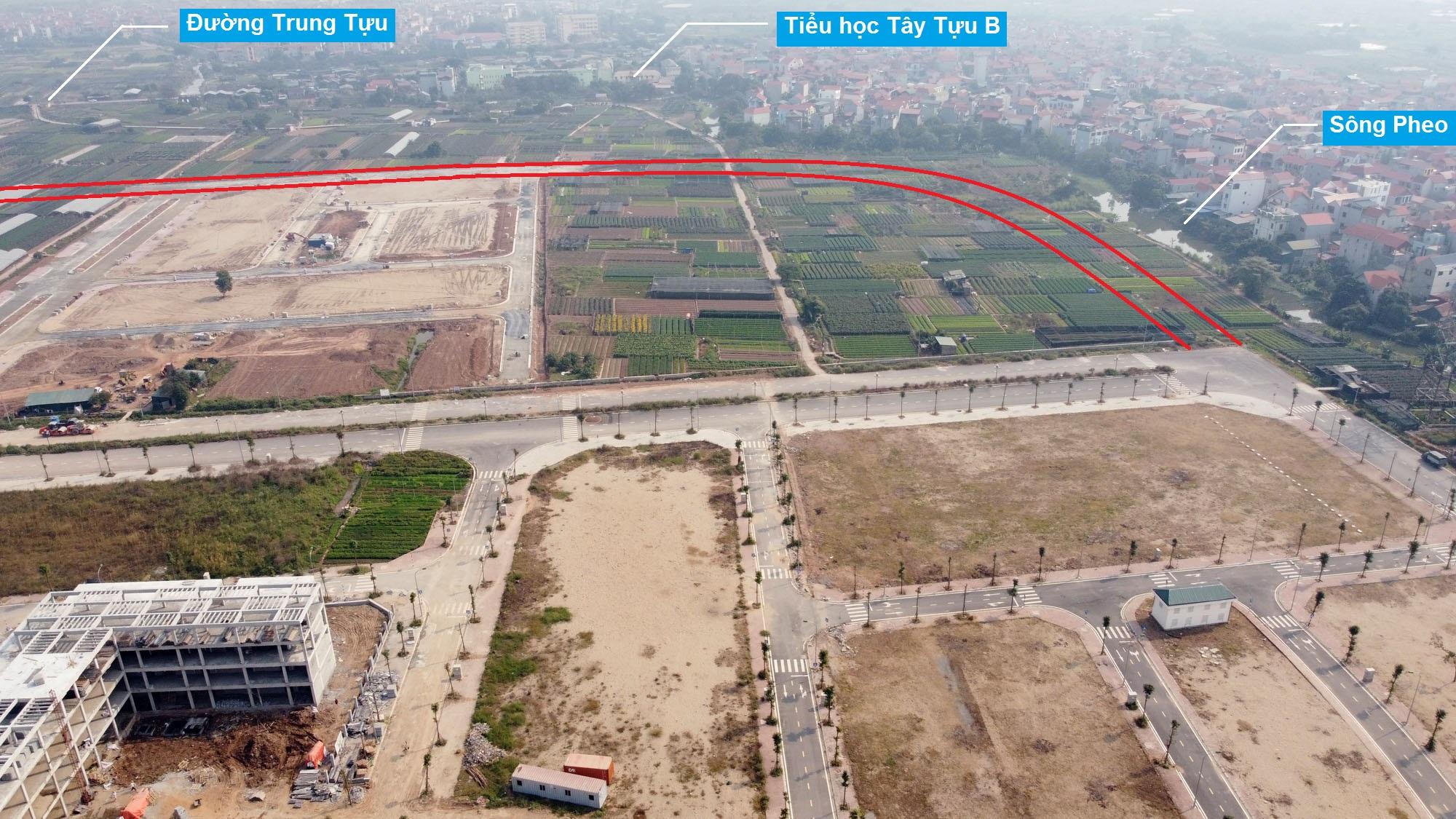 Ba đường sẽ mở theo qui hoạch ở phường Tây Tựu, Bắc Từ Liêm (phần 3) - Ảnh 3.