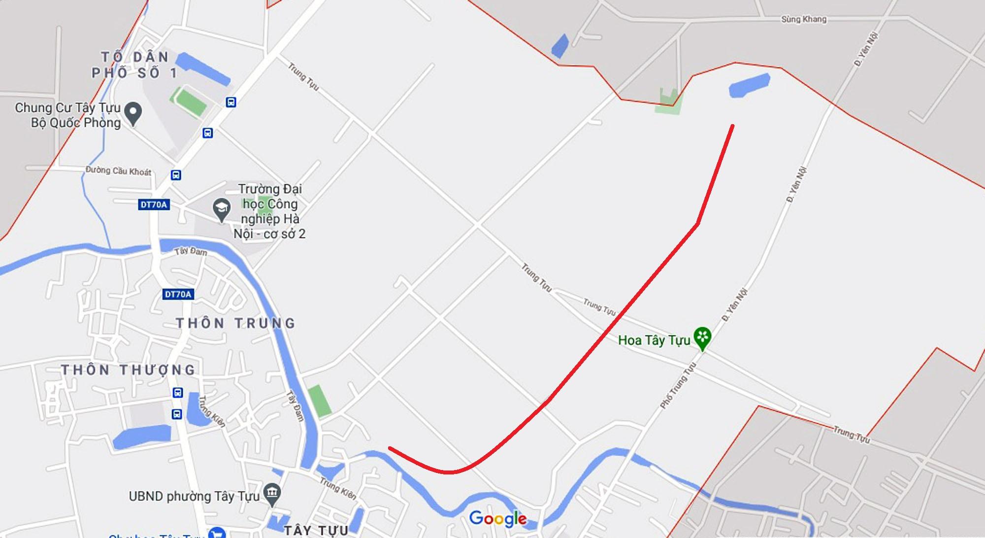 Ba đường sẽ mở theo qui hoạch ở phường Tây Tựu, Bắc Từ Liêm (phần 3) - Ảnh 2.