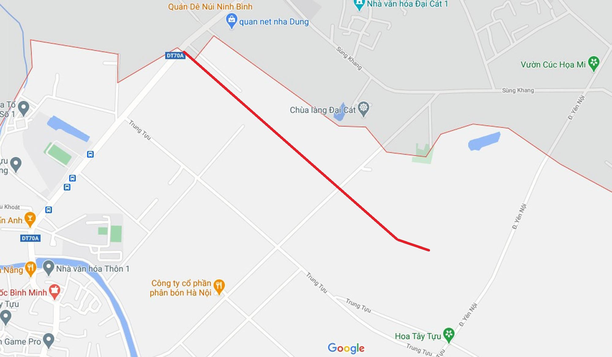 Ba đường sẽ mở theo qui hoạch ở phường Tây Tựu, Bắc Từ Liêm (phần 3) - Ảnh 8.