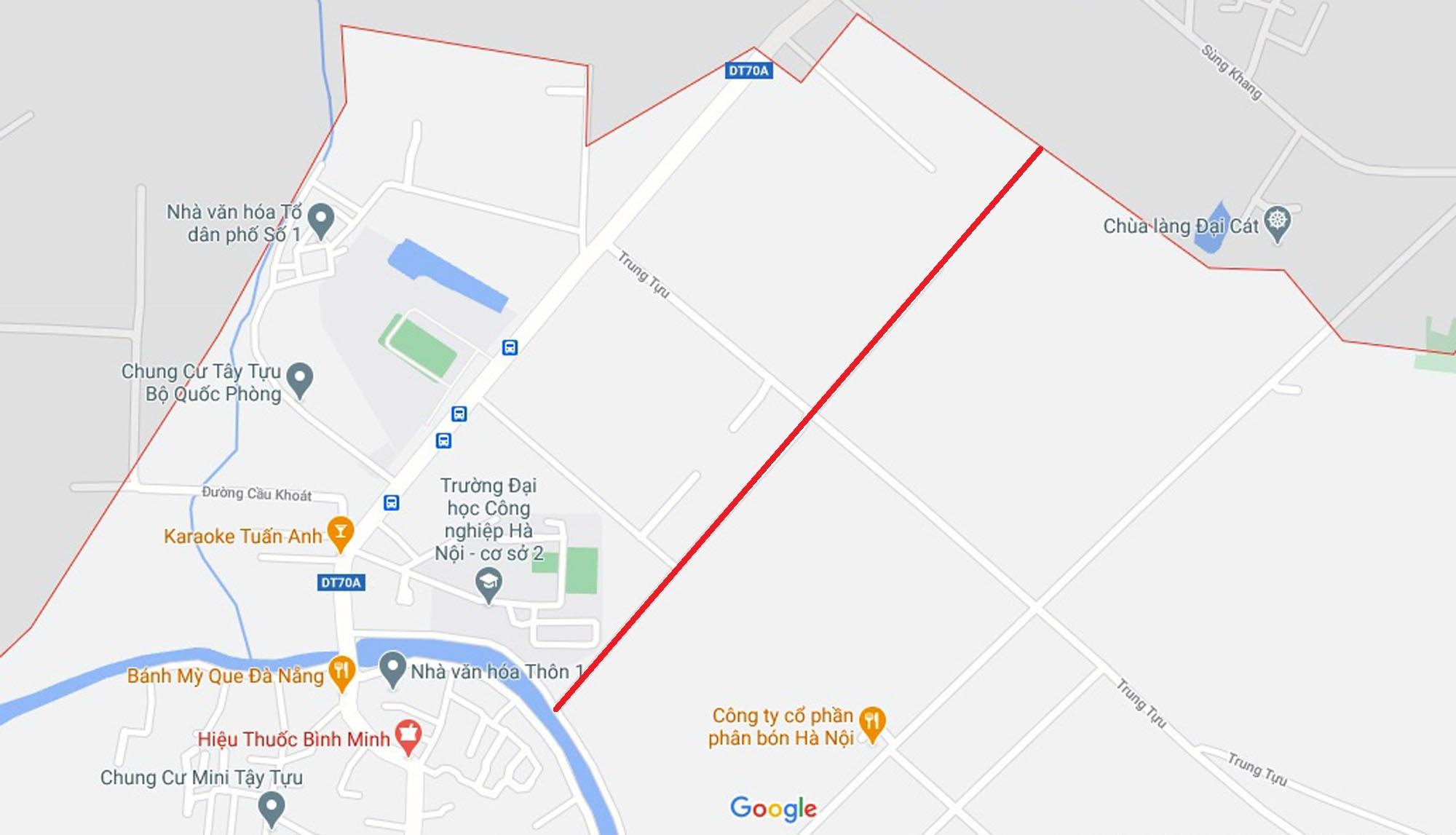 Ba đường sẽ mở theo qui hoạch ở phường Tây Tựu, Bắc Từ Liêm (phần 3) - Ảnh 13.