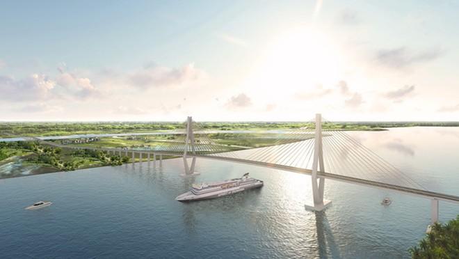 Bộ trưởng Bộ GTVT: Quyết tâm khởi công Dự án cầu Rạch Miễu 2 trong năm 2021 - Ảnh 1.