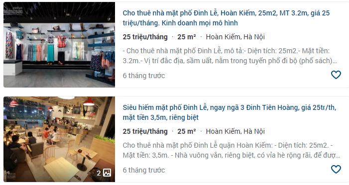 Giá đất phố Đinh Lễ, Hoàn Kiếm, Hà Nội giai đoạn 2020 - 2024 - Ảnh 6.