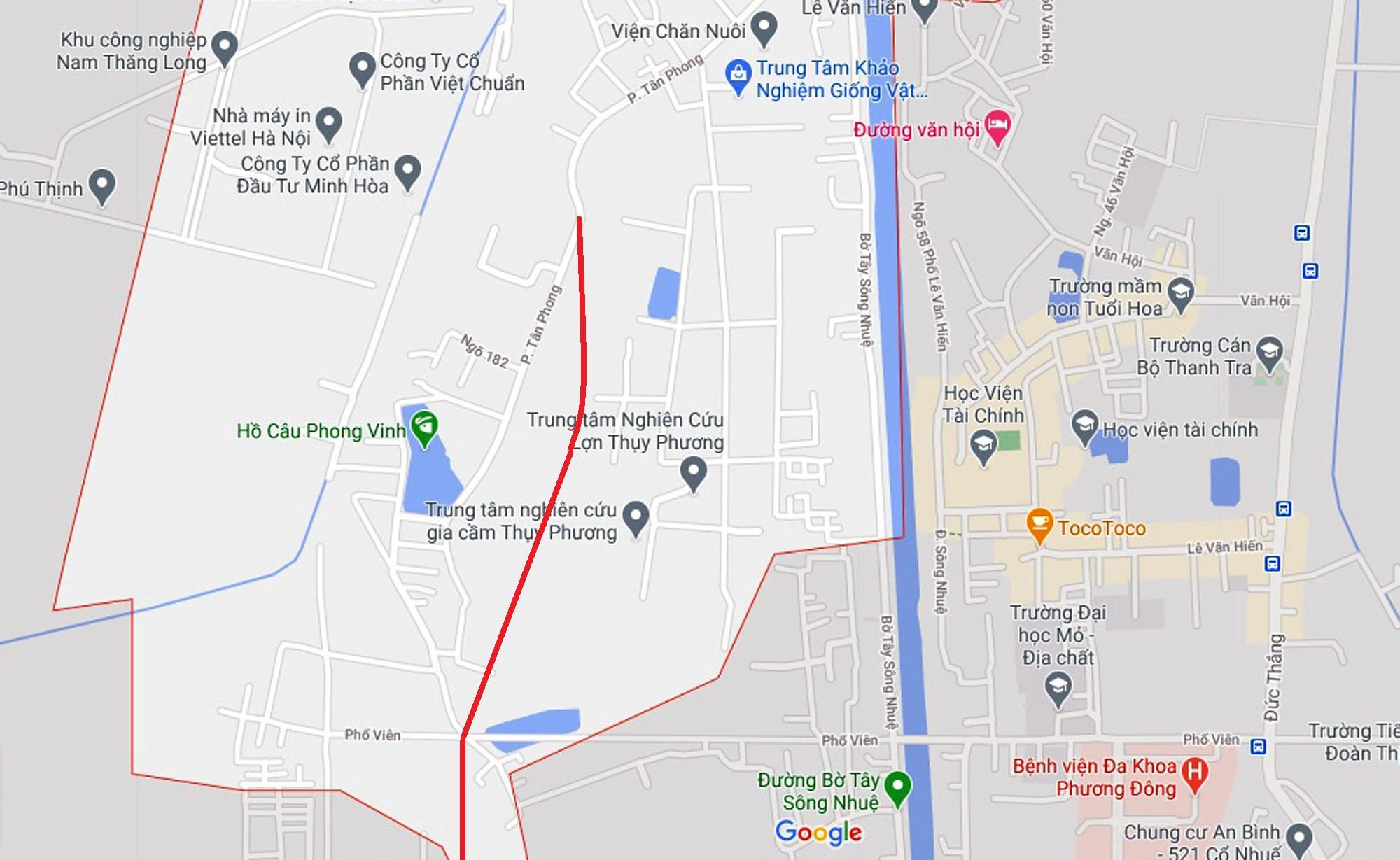 Ba đường sẽ mở theo qui hoạch ở phường Thụy Phương, Bắc Từ Liêm, Hà Nội (phần 2) - Ảnh 2.