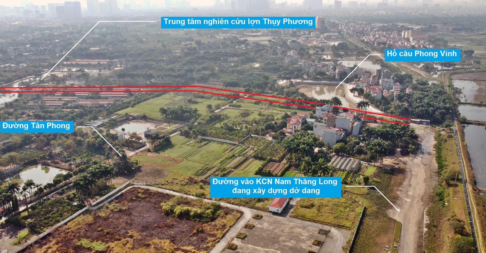 Ba đường sẽ mở theo qui hoạch ở phường Thụy Phương, Bắc Từ Liêm, Hà Nội (phần 2) - Ảnh 7.