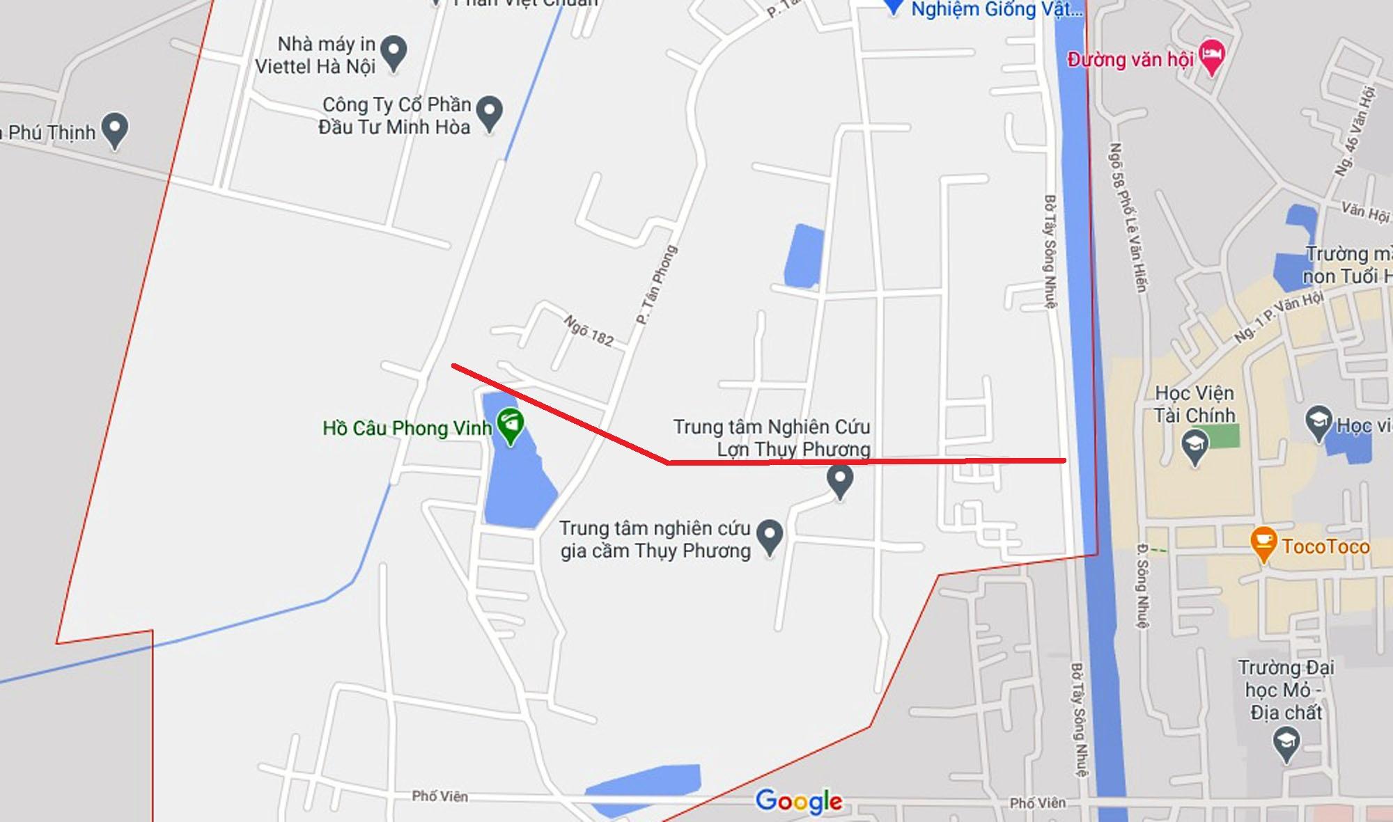 Ba đường sẽ mở theo qui hoạch ở phường Thụy Phương, Bắc Từ Liêm, Hà Nội (phần 2) - Ảnh 6.