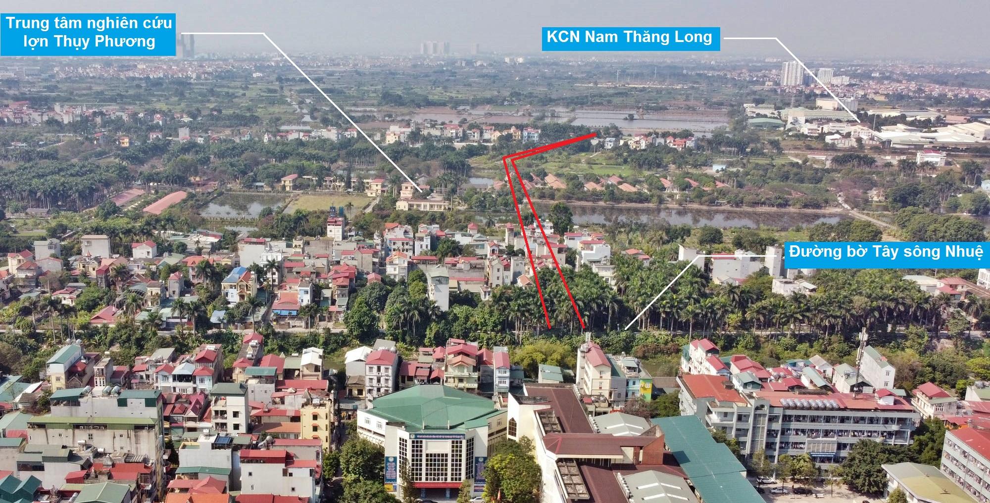 Ba đường sẽ mở theo qui hoạch ở phường Thụy Phương, Bắc Từ Liêm, Hà Nội (phần 2) - Ảnh 9.