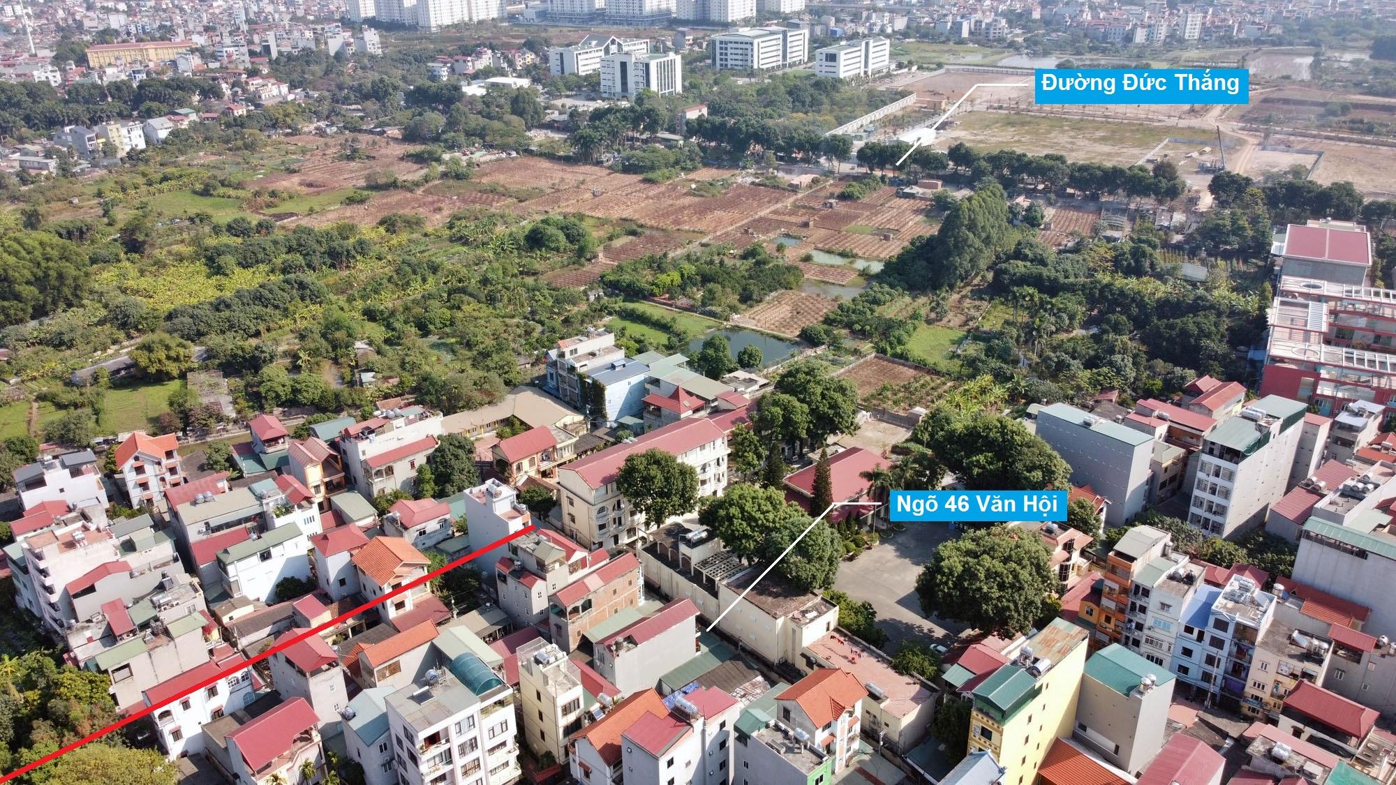 Ba đường sẽ mở theo qui hoạch ở phường Đức Thắng, Bắc Từ Liêm, Hà Nội (phần 2) - Ảnh 3.