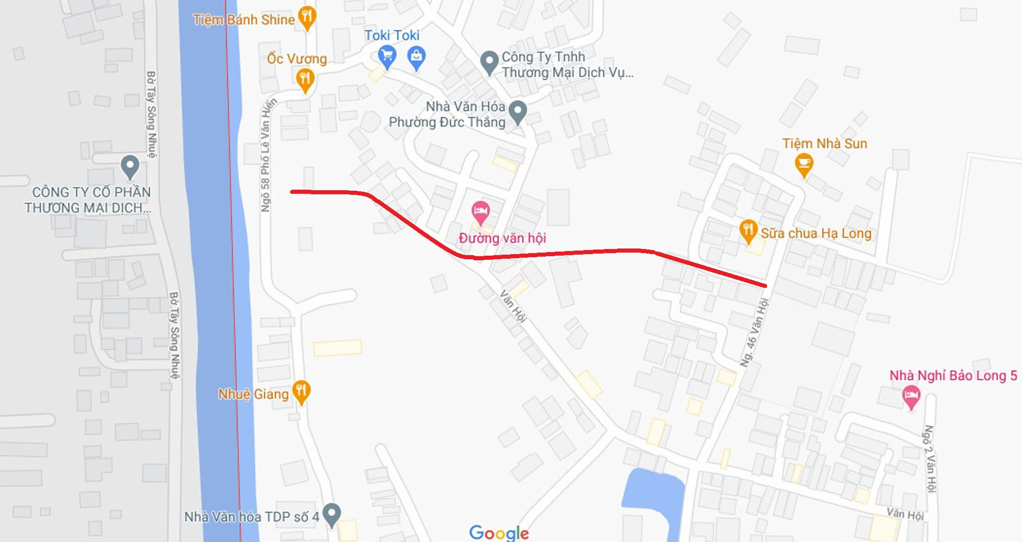 Ba đường sẽ mở theo qui hoạch ở phường Đức Thắng, Bắc Từ Liêm, Hà Nội (phần 2) - Ảnh 2.
