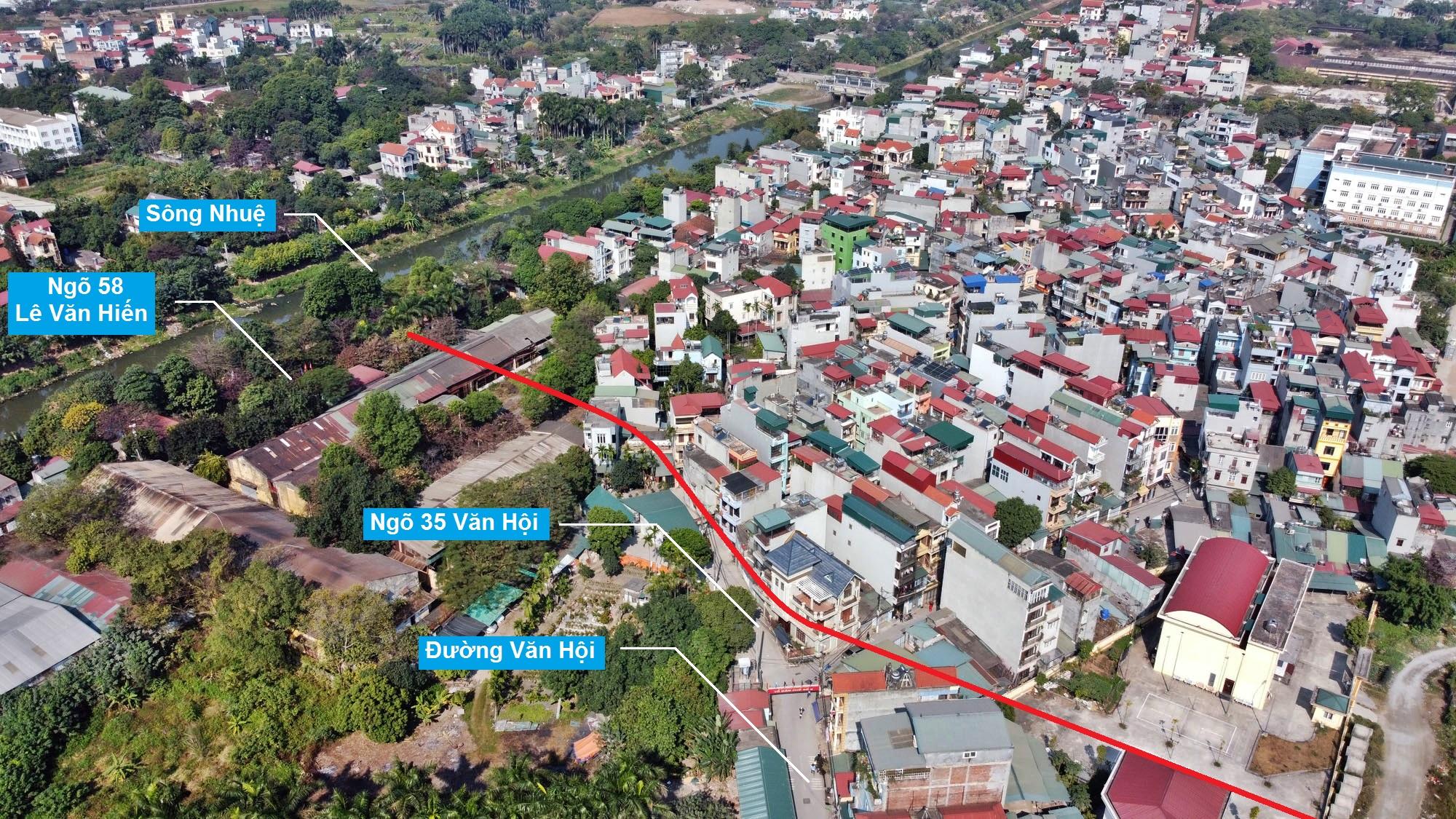 Ba đường sẽ mở theo qui hoạch ở phường Đức Thắng, Bắc Từ Liêm, Hà Nội (phần 2) - Ảnh 5.