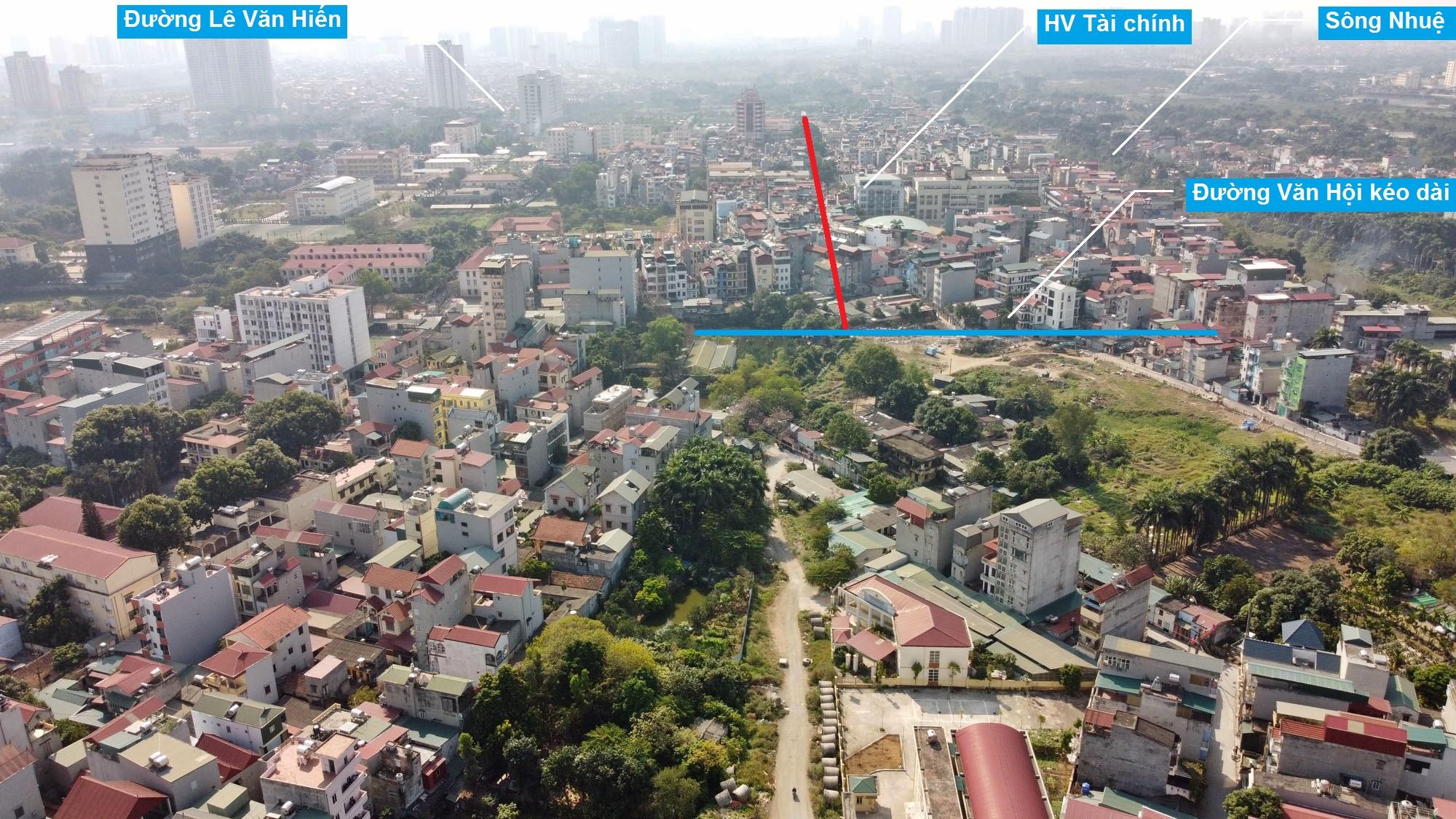 Ba đường sẽ mở theo qui hoạch ở phường Đức Thắng, Bắc Từ Liêm, Hà Nội (phần 2) - Ảnh 7.