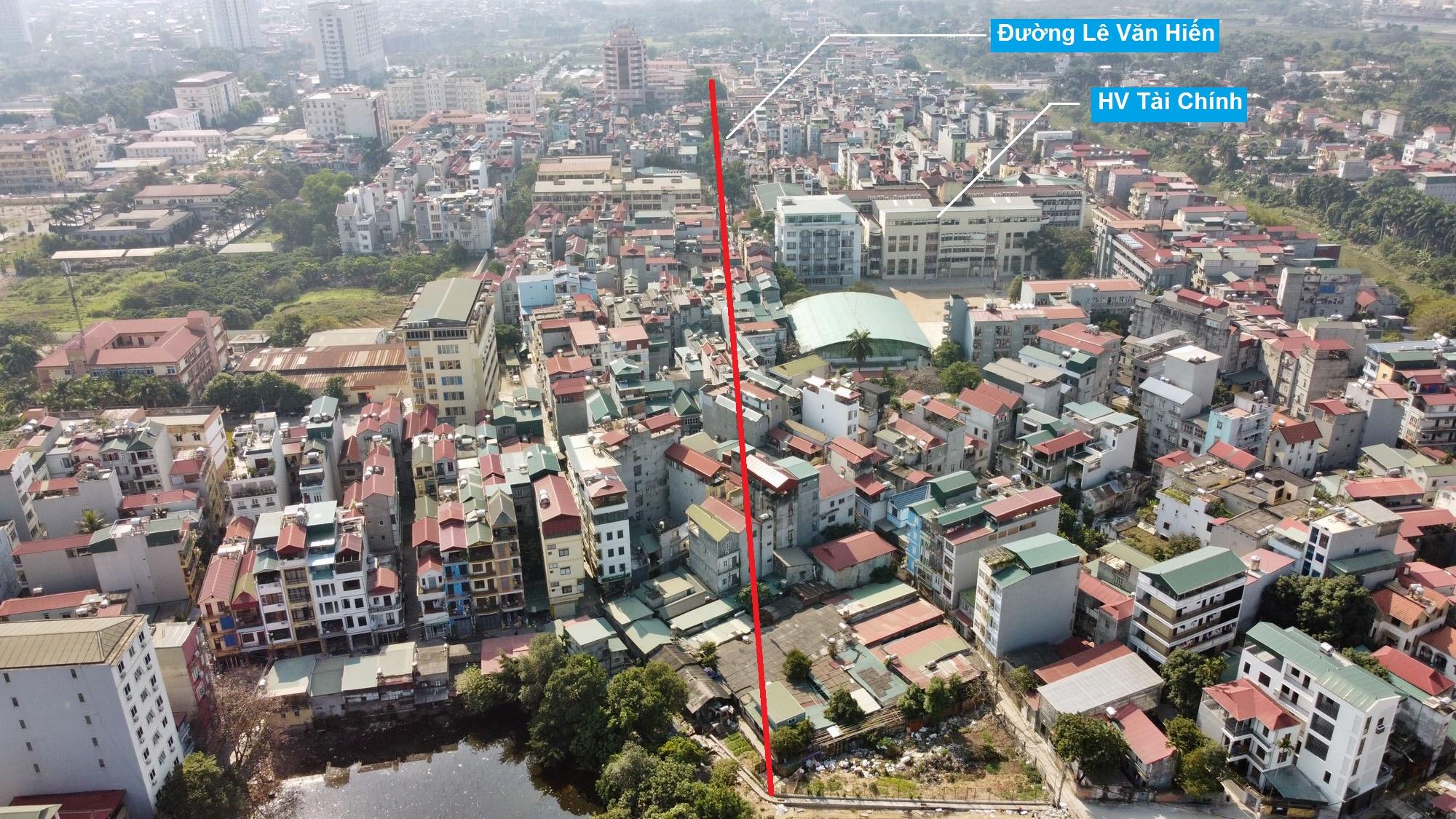 Ba đường sẽ mở theo qui hoạch ở phường Đức Thắng, Bắc Từ Liêm, Hà Nội (phần 2) - Ảnh 9.