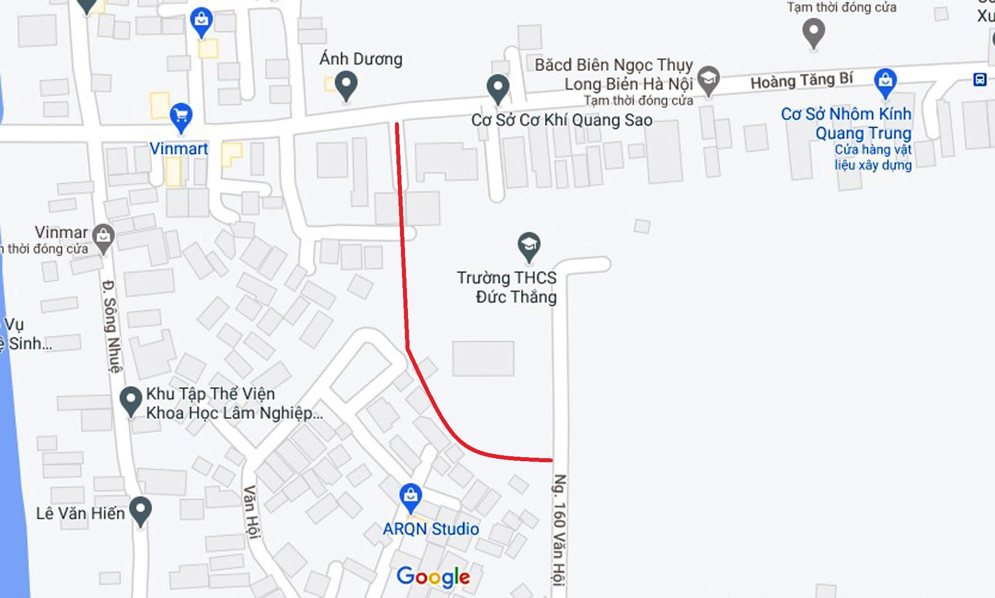 4 đường sẽ mở theo qui hoạch ở phường Đức Thắng, Bắc Từ Liêm, Hà Nội (phần 2) - Ảnh 14.