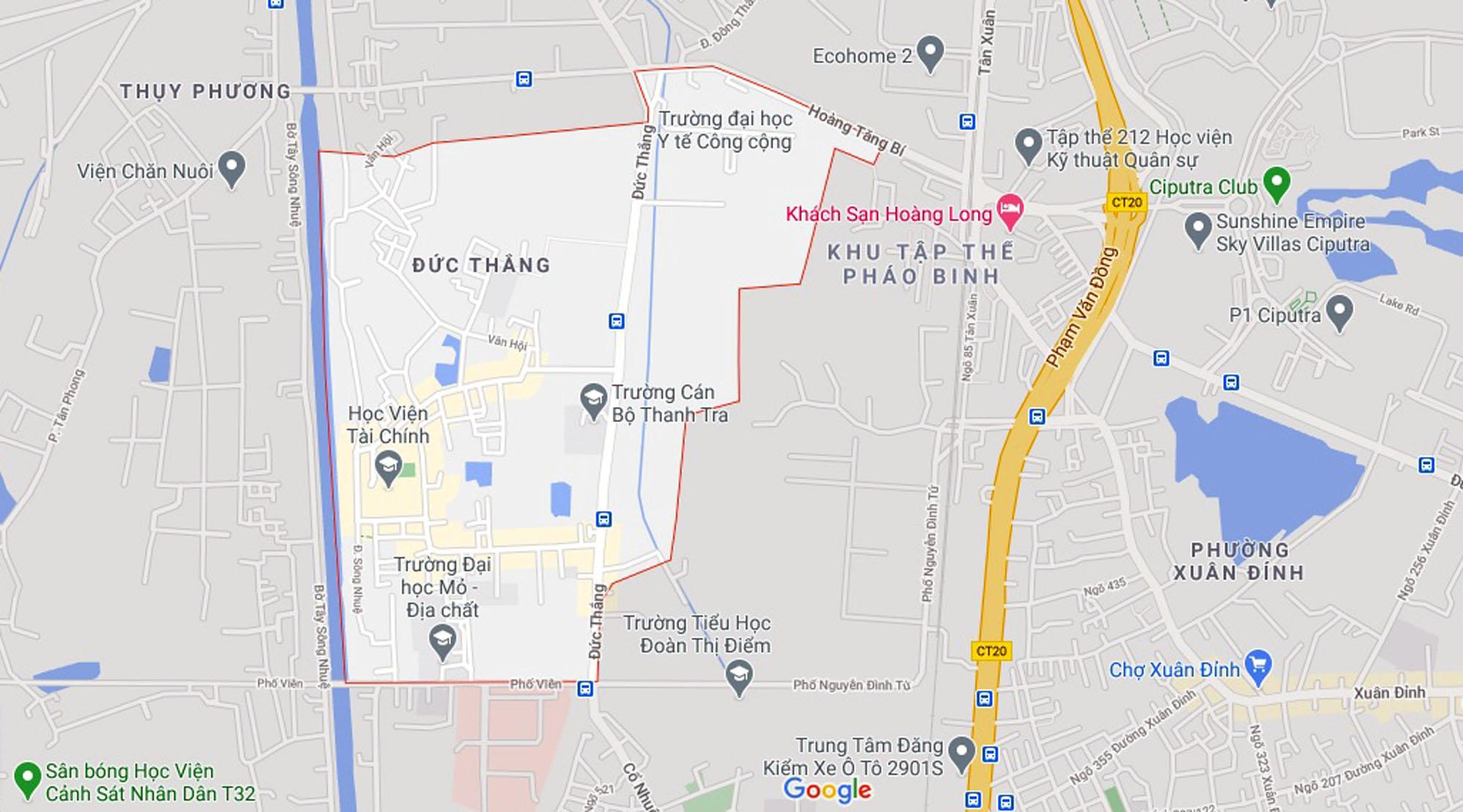 Ba đường sẽ mở theo qui hoạch ở phường Đức Thắng, Bắc Từ Liêm, Hà Nội (phần 2) - Ảnh 1.