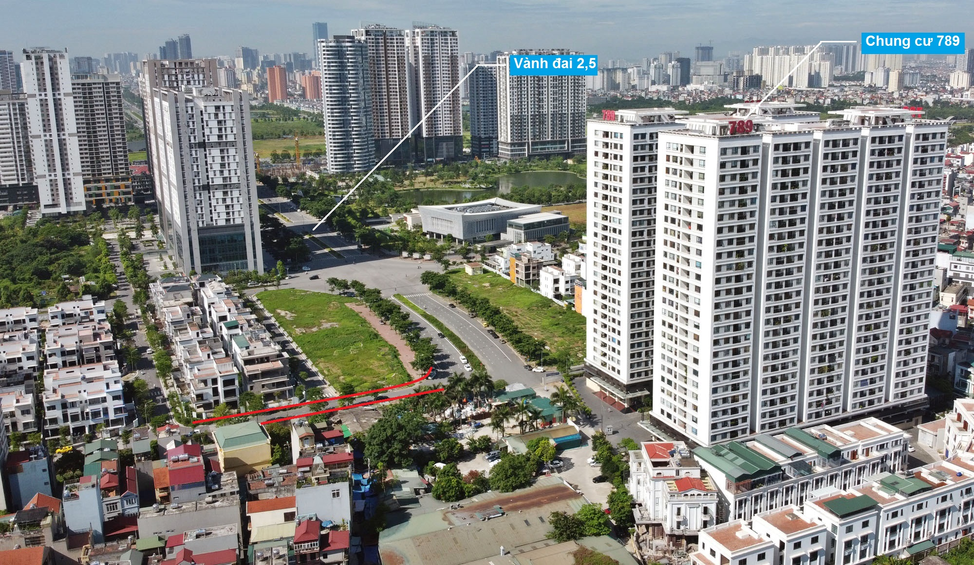 Ba đường sẽ mở theo qui hoạch ở phường Xuân Tảo, Bắc Từ Liêm, Hà Nội (phần 2) - Ảnh 3.